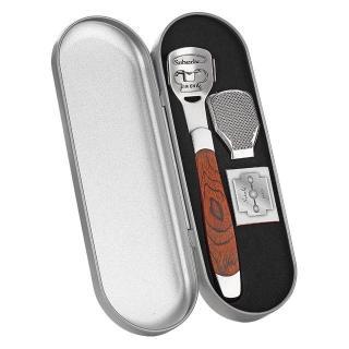 Dụng cạo bào da chết, chà gót chân tiện lợi, chất liệu inox cao cấp, thiết kế nhỏ gọn có thể mang theo đi mọi nơi - Kèm 20 dao cạo thay thế thumbnail