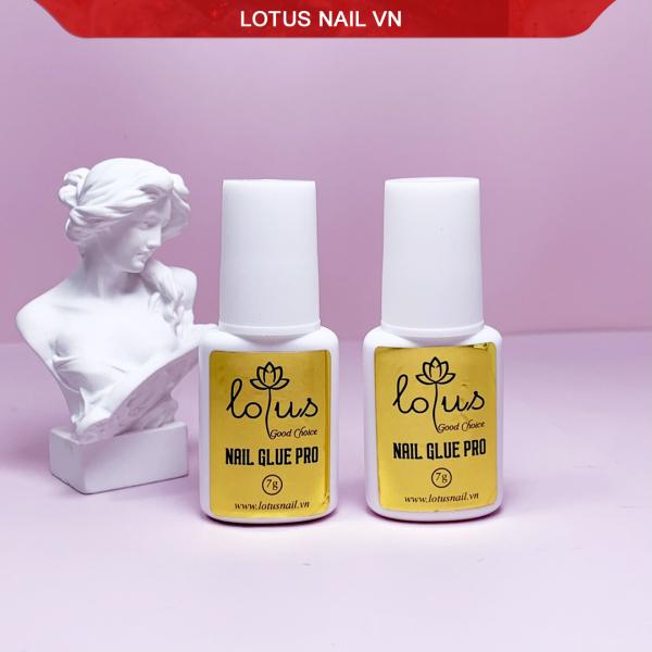 Keo dán móng, gắn phụ kiện nail siêu chắc Lotus Pro 2022 nhập khẩu