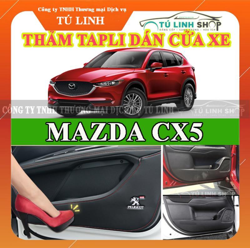 Bộ 4 Thảm Tapli dán cánh cửa chống trầy xước xe CX5 2017-2019