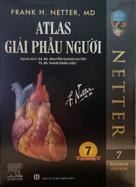 Sách Atlas Giải Phẫu người (Số 7/2020)(Sách mầu, in 100% giấy couche)