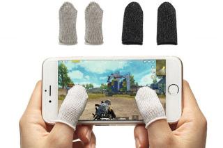 Mẫu Mới - Bộ 2 Bao Tay Chơi Game chống Mồ Hôi - Tăng Độ Nhạy Cảm Ứng - Găng tay chơi game điện thoải cảm ứng thumbnail