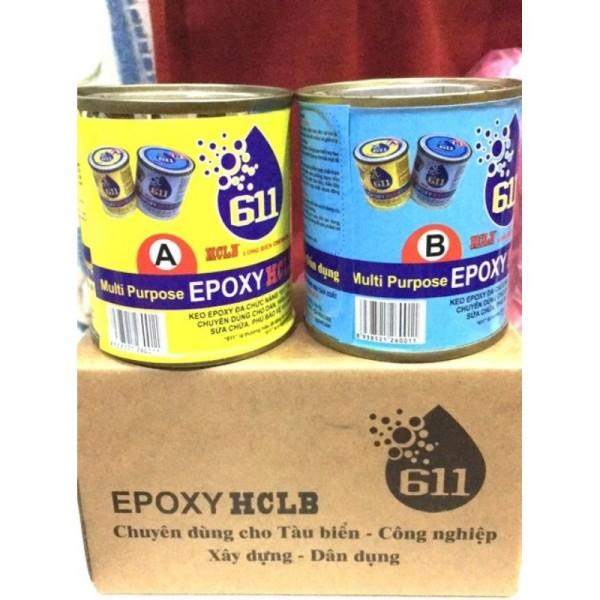 keo epoxy ab 611 dán đa năng siêu cứng