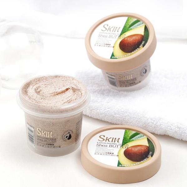 (Hàng mới về)  Tẩy Tế Bào Chết Skin Exfoliating Scrub Shea Butter 100g nhập khẩu