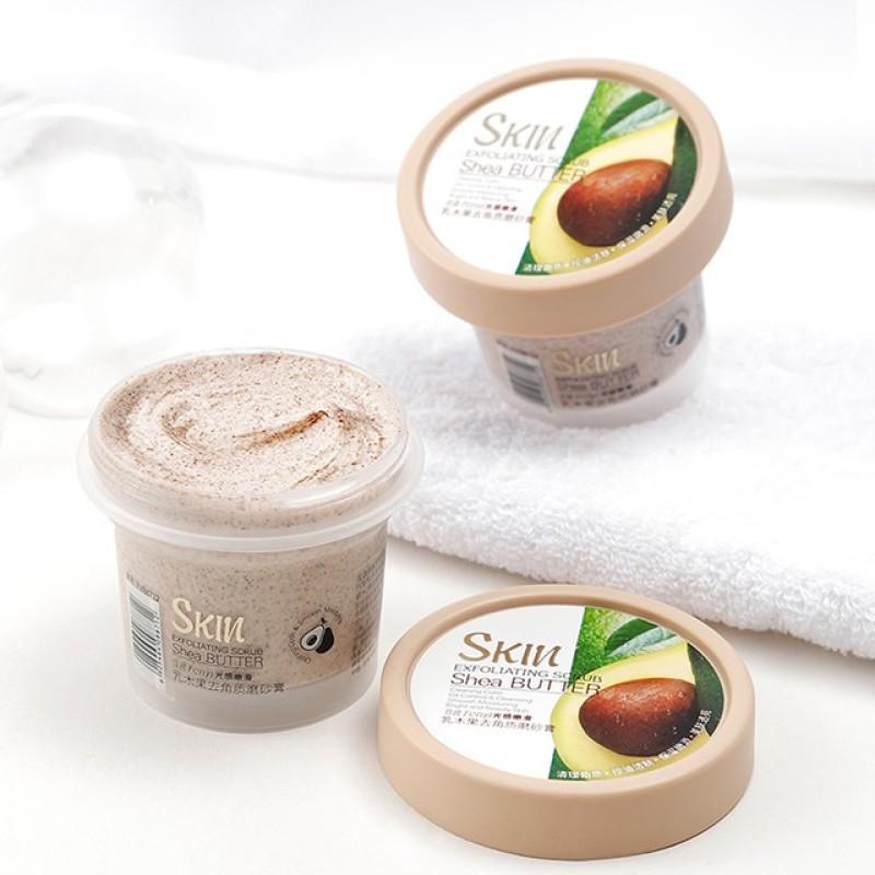 (Hàng mới về)  Tẩy Tế Bào Chết Skin Exfoliating Scrub Shea Butter 100g