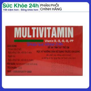 Vitamin tổng hợp Pharvita Plus bồi bổ cơ thể, tăng sức đề kháng dùng cho người trên 6 tuổi Chai 30 viên HSD 2023 2