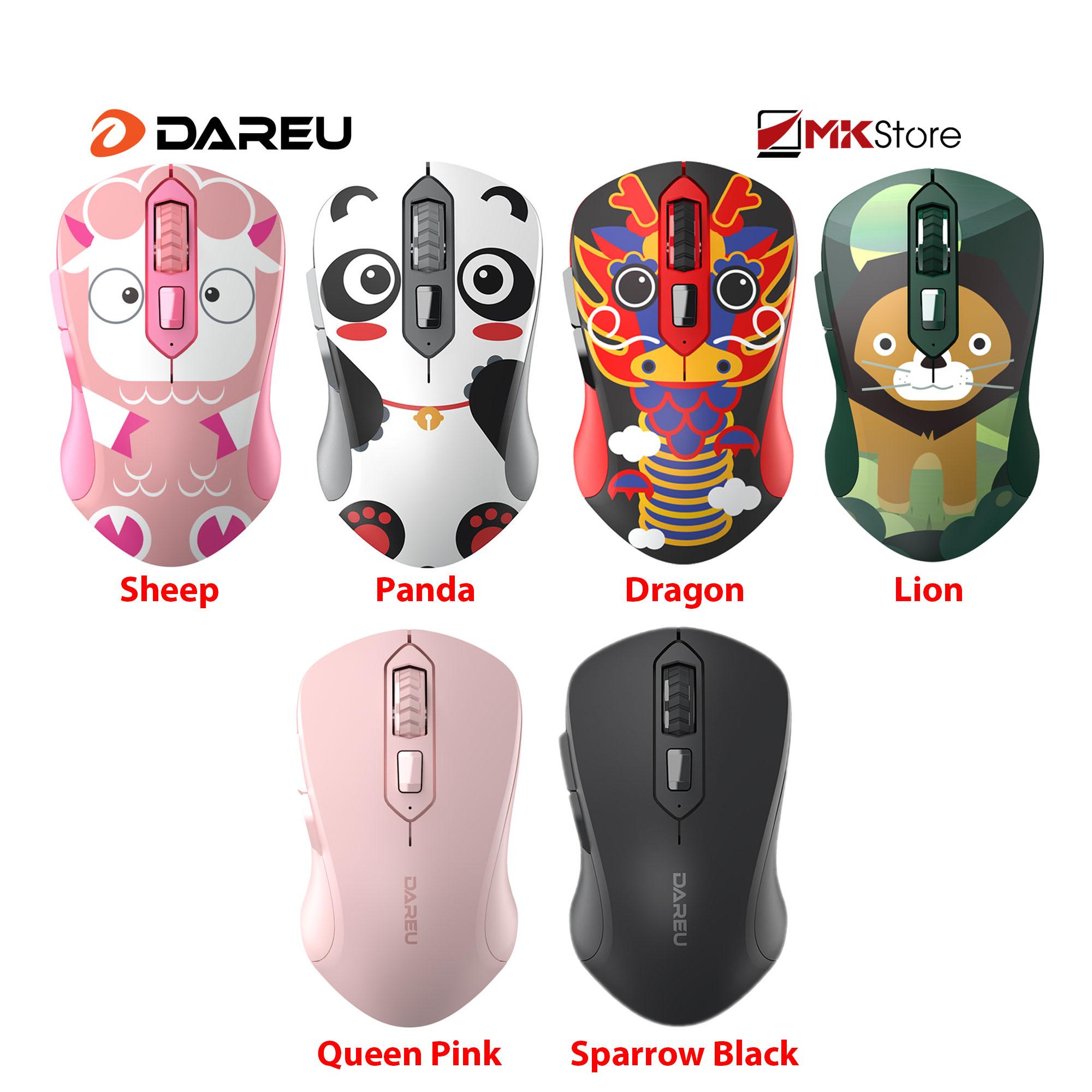 Bảng giá Chuột không dây DAREU LM115G Multi-Color Wireless Phong Vũ