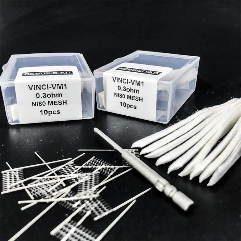 RBK coil kit for Vinci VM1, 0.3 ohm mesh coil, rebuild kit with tool kit