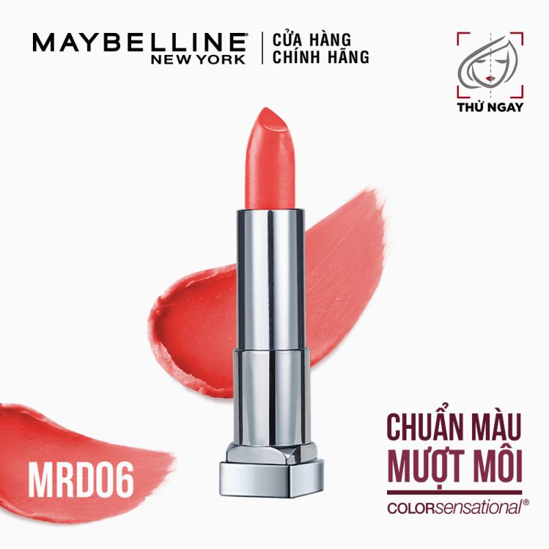 Son Lì Mịn Môi Tông đất Maybelline New York Color Sensational Inti Mattes Nude Lipstick 3.9g