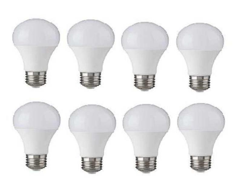 Bộ 8 đèn Led Bulb Trụ 12W (Trắng)