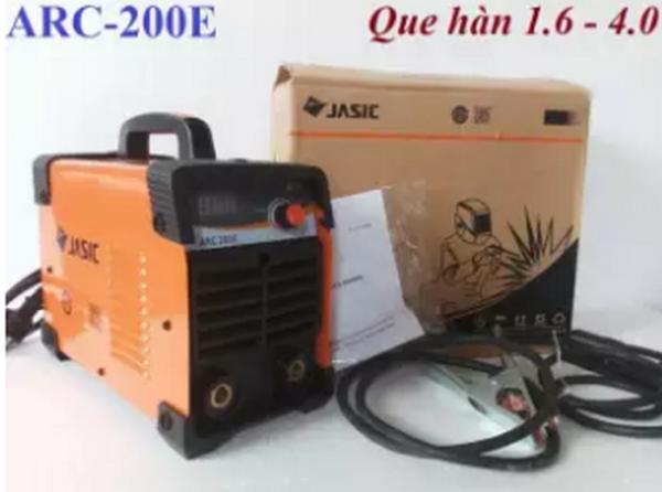 Tặng bó 20 que Hàn que 4 ly với máy hàn JASIC ARC-200E model mới công nghệ Anh Quốc.