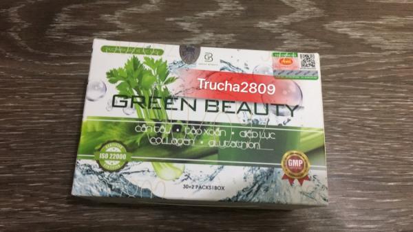 Cần Tây Giảm Cân Green Beauty giảm cân giảm mỡ eo thon dáng đẹp cao cấp