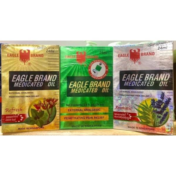 Dầu Xanh Con Ó Eagle Brand 24ml – Mỹ giá rẻ