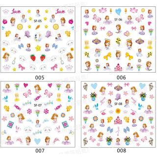 Set sticker dán móng cho bé gái đáng yêu BBShine J007a 4