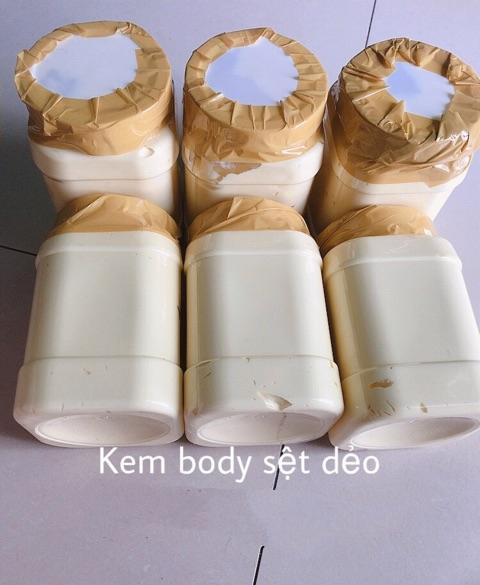 1kg kem body cốt phô mai mềm trắng da