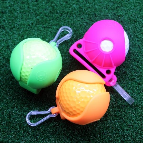 Kẹp Giữ Bóng Golf và Tee Chất Liệu Nhựa Silicone Golf Ball Pockets