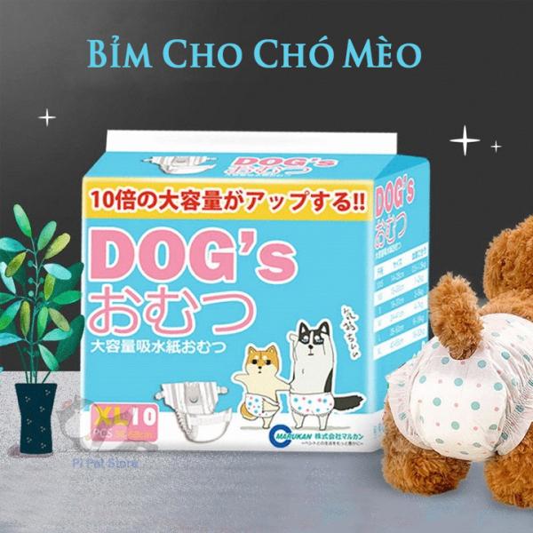 Bỉm Vệ Sinh Cho Chó - Tã Lót Cho Chó Mèo Nhật Bản - Bỉm cho Chó Cái - Pi Pet Store