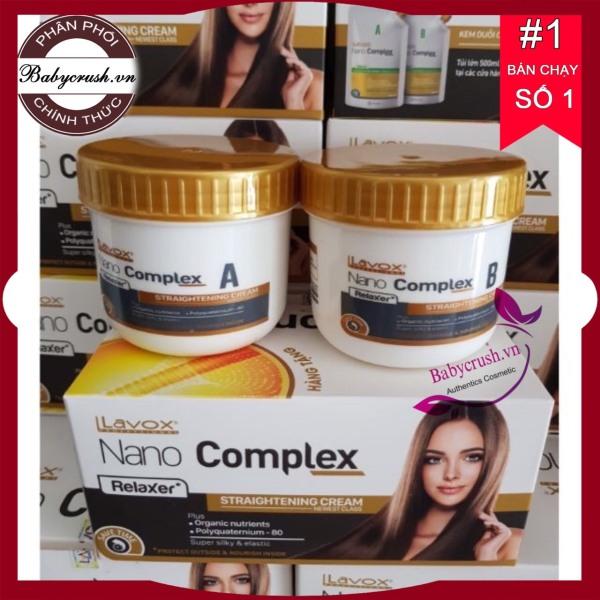 Thuốc duỗi tóc Lavox nano complex phục hồi tóc mini giá rẻ