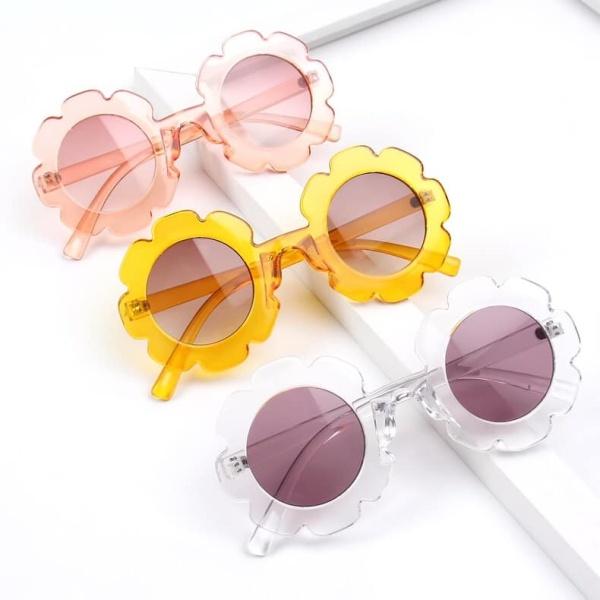 Giá bán HKB7040 - Kính chống tia UV hình hoa hướng dương đi biển cho bé hàng nhập