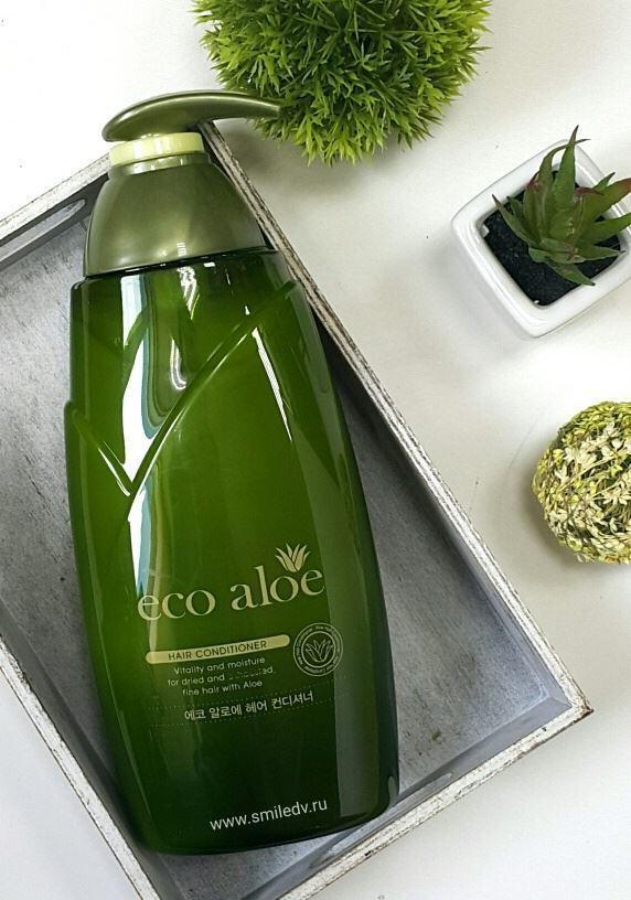 Dầu xả mượt tóc thiên nhiên Nha đam Eco Aloe