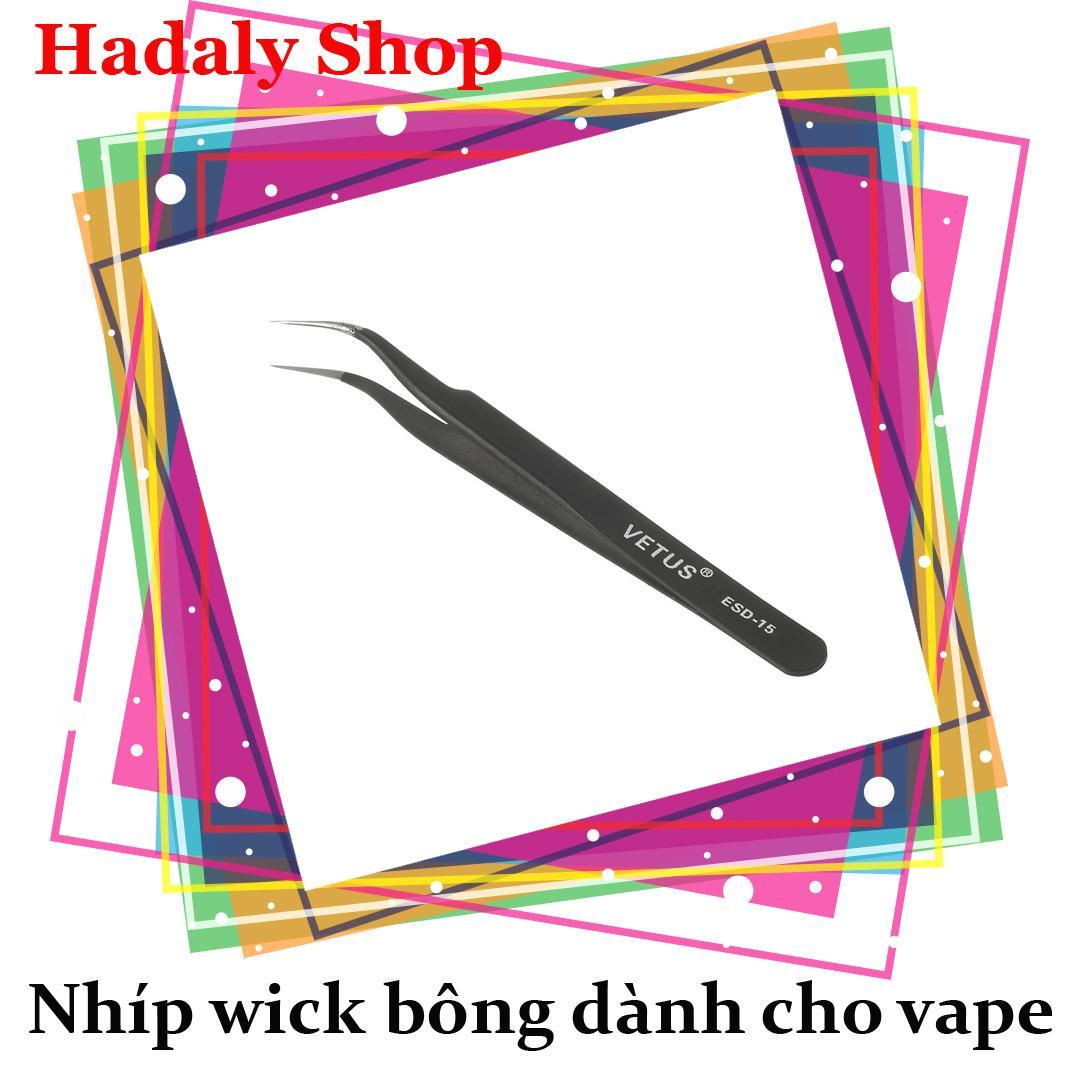 Nhíp wick bông (Nhíp cong) - Tweezers tốt nhất