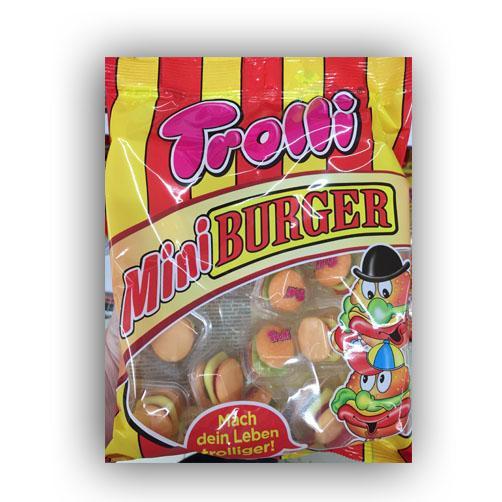 Kẹo Dẻo Trolli Mini Burger 170g (17 viên)