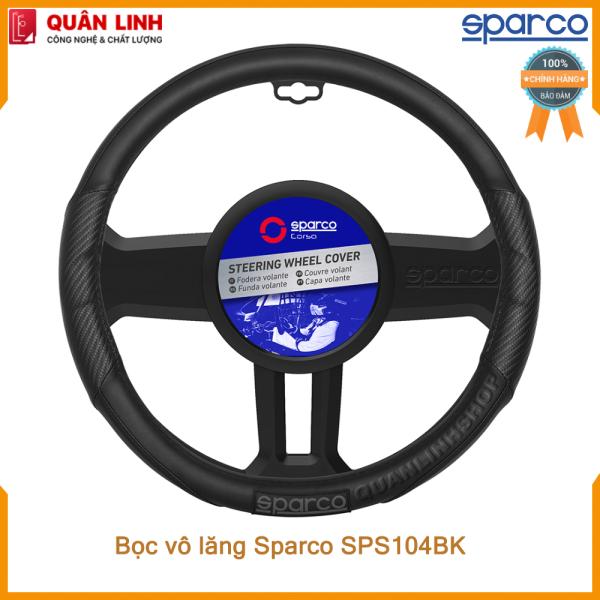 Bọc vô lăng Sparco SPS104BK