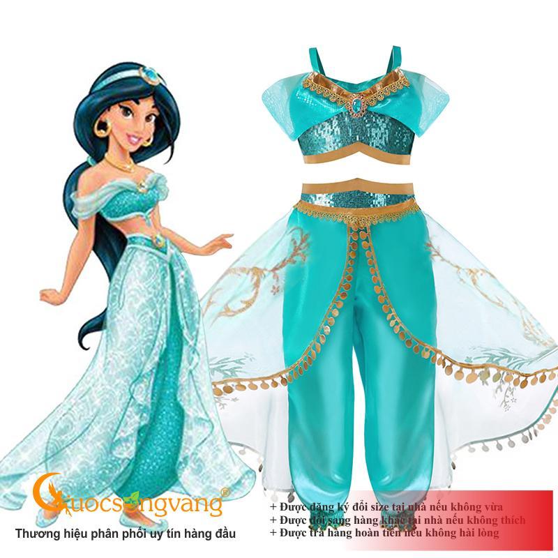 Giá bán Bộ đồ công chúa Jasmine bộ đồ bé gái dễ thương GLSET039