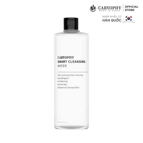 Nước tẩy trang Caryophy Smart Cleansing Water làm sạch lớp makeup, bụi bẩn, dầu nhờn dịu nhẹ 500ML giá rẻ