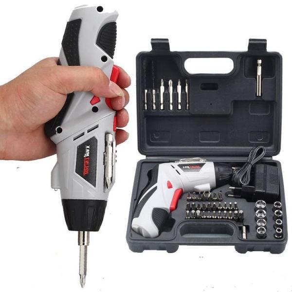 Bộ máy khoan cầm tay sạc pin 45 chi tiết Joust Max siêu tiện lợi