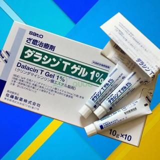 Kem trị mụn Dalacin T Gel 1% Sato Nhật Bản thumbnail