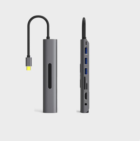 Bảng giá Hub chuyển USB type C - 9 in1 Phong Vũ