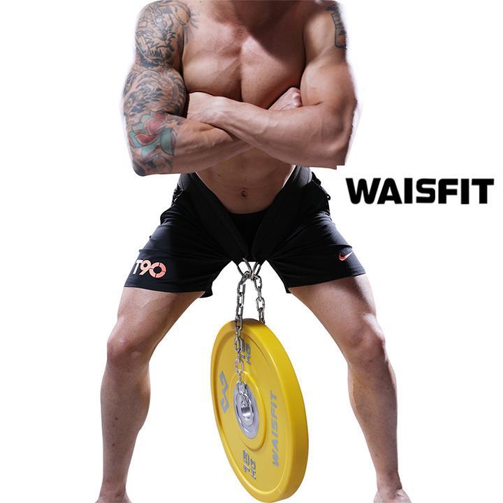 Đai tập lưng bụng có xích treo tạ sản phẩm của Waisfit WS2235