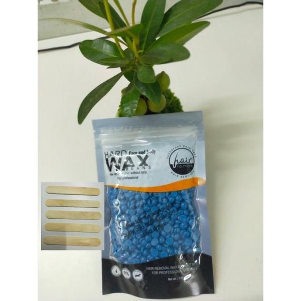 [HCM]Compo Sáp Wax Lông Nóng Hạt Đậu HARD WAX BEAN 100g +5 Que Gỗ Lấy Sáp