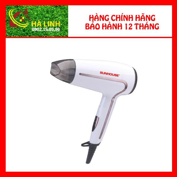 Máy sấy tóc Sunhouse SHD2308W - Máy sấy tóc 2 chiều, công suất 1500W, bảo hành 12 tháng giá rẻ