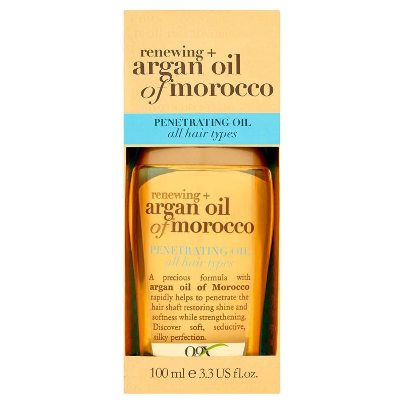 Dầu Dưỡng Tóc Dành Cho Mọi Loại Tóc OGX Argan Oil Morocco Penetrating Oil All Hair Types 100ml cao cấp