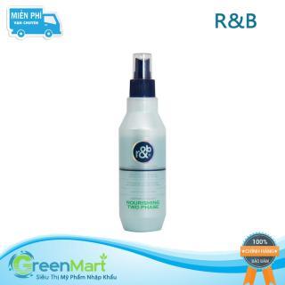 Nước xịt dưỡng tóc bóng mềm Hàn Quốc R&B Nourishing Two Phase 250ml - Green Mart HCM thumbnail