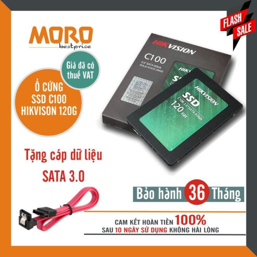Ổ Cứng SSD HIKVISION C100 120GB Sata III - bảo hành 36 tháng