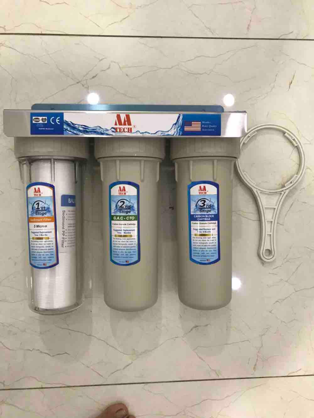 Bộ lọc nước sinh hoạt tại chậu rửa