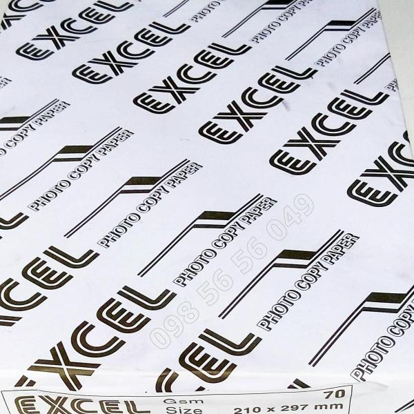 Mua Giấy a4 excel 80 gsm dùng trong các văn phòng làm việc sử dụng cho máy laser máy photocopy sử dụng để in hoặc photo đóng thành cuốn hoặc dùng làm phiếu thu chi