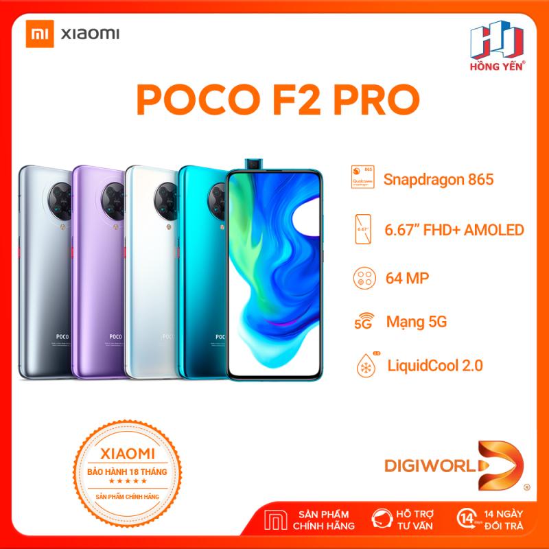 Điện Thoại Xiaomi POCO F2 Pro 6GB/128GB  8GB/256GB - Hàng Chính Hãng Digiworld - Bảo Hành 18 Tháng