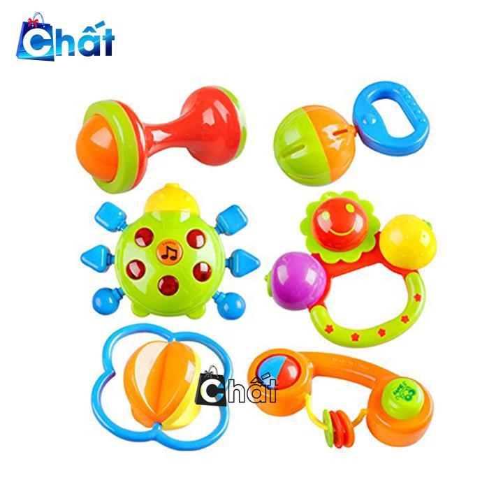 Bộ 7 món đồ chơi xúc xắc cho bé