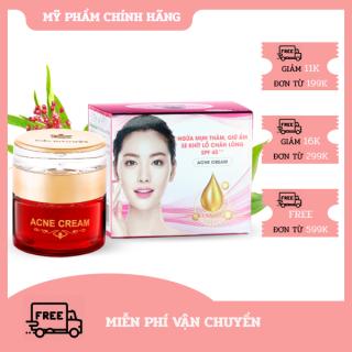 Kem Ngừa mụn thâm - Giữ ẩm - Se khít lỗ chân lông SPF 45+++ Acne Cream Miền Thảo Mộc (30g) thumbnail