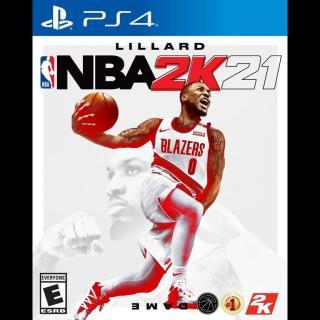 [Nhập ELJAN2 giảm đến 200k cho đơn 99k] Đĩa Game PS4 NBA 2K21 thumbnail