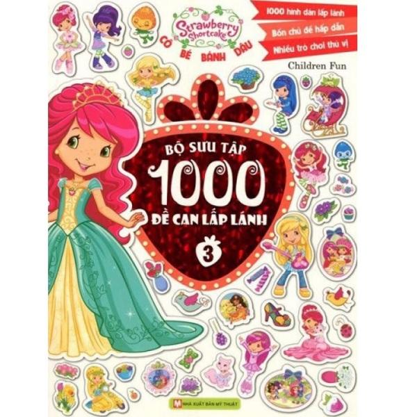 Sách Cô Bé Bánh Dâu - Bộ Sưu Tập 1000 Đề Can Lấp Lánh (Tập 3) - Newshop