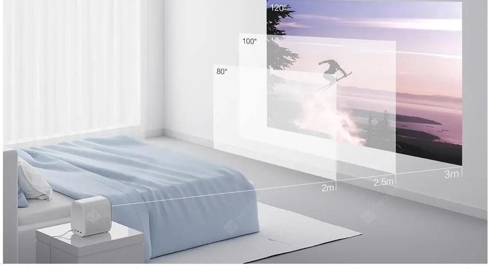 Bảng giá Máy chiếu Xiaomi Mijia MJJGTYDS02FM Full HD 1080P 30000 LED Life Wifi bluetooth cho điện thoại Máy tính Âm nhạc 3D Movie