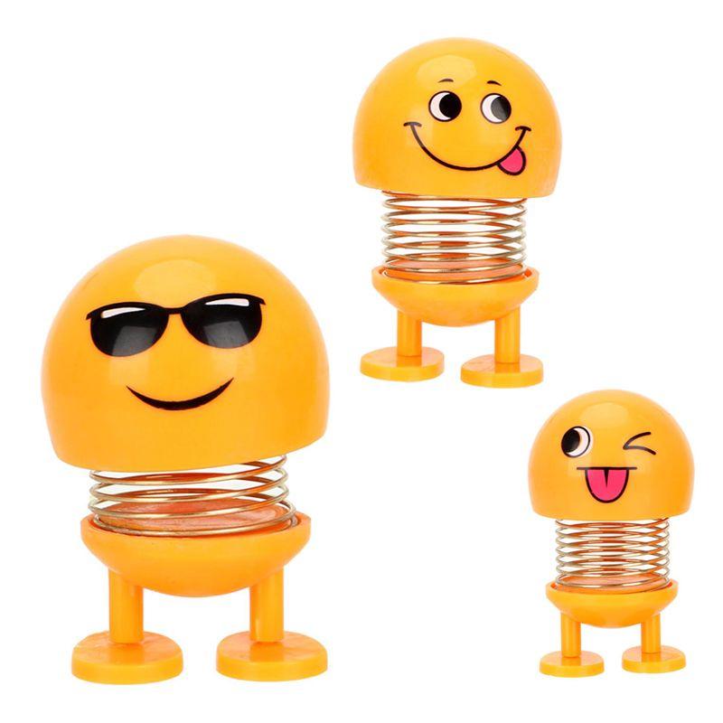 Lật Đật Icon Emoji Lò Xo Nhún Xả Stress