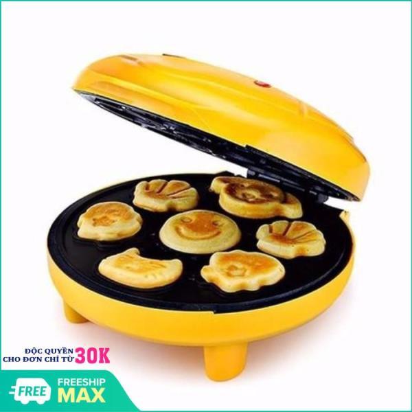Máy Nướng Bánh Hình Thú - Thiết kế cao cấp - Nướng bánh dễ dàng - Máy Nướng Bánh 7 Khuôn Làm Bánh Bằng Điện