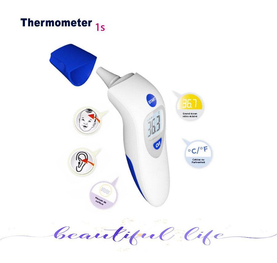 Nhiệt kế điện tử & hồng ngoại Đo trán, đo tai cho bé Máy đo nhiệt kế hồng ngoại,- Sản phẩm chất lượng cao, bảo hành uy tín 1 đổi 1 cao cấp