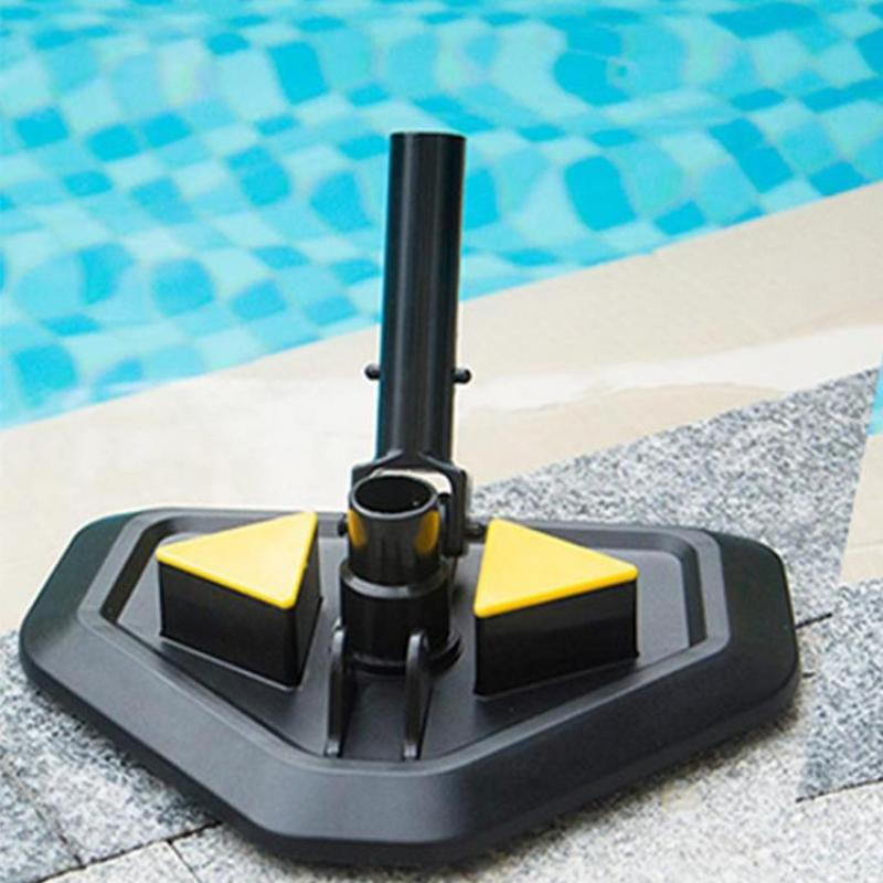Pool Suction Head Underwater Eco-friendly Vacuum Cleaner Replacement Head Triangle Weighted Pool Spa Head