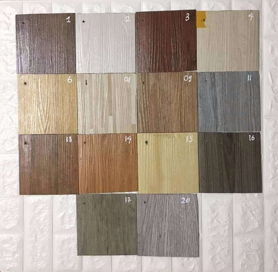 1 tấm sàn nhựa giả gỗ HNC FLOOR